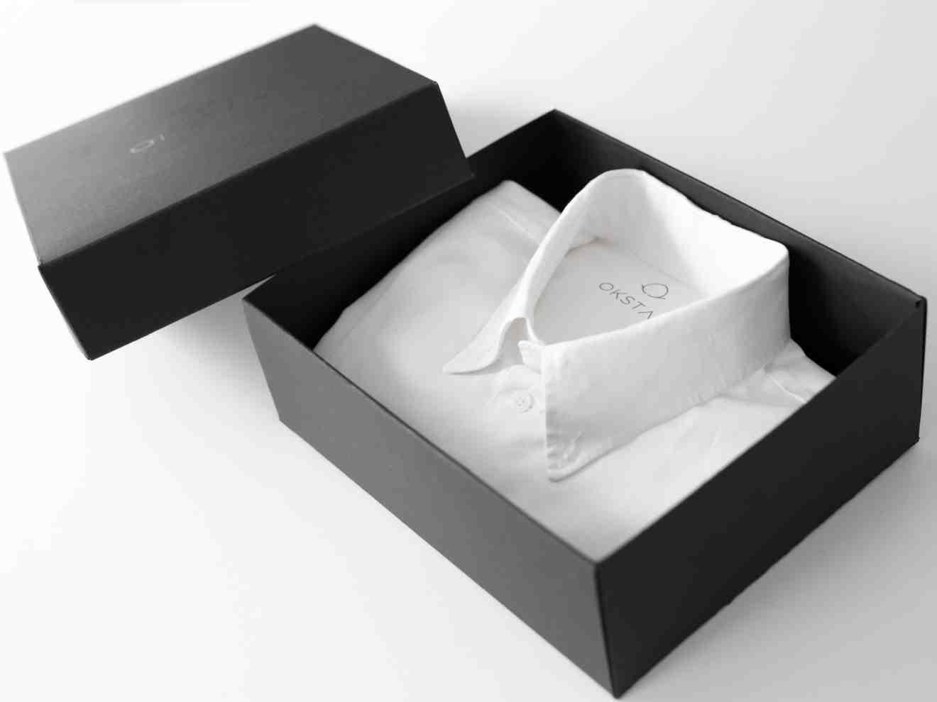 Boxed shirt